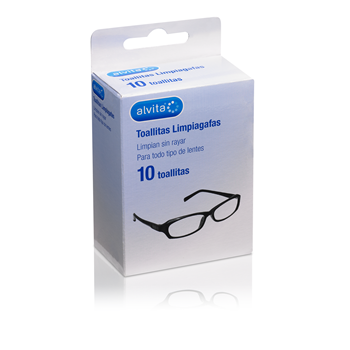 Alvita Optical Wipes