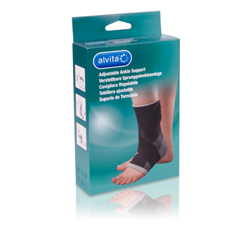 Alvita Adjustable Ankle Support